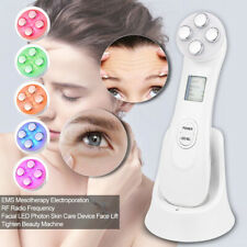 Facial Beauty Skin Tightening Machine RF LED Light Photon Therapy Beauty Device