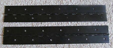 "A Pair 2 Aluminum Anodized Black Piano Hinge 1""x 1""x 12"" 20 Gauge RV Boat"