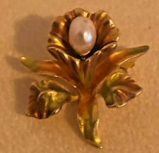Joan Rivers Victorian Orchid Pin
