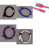 New Blackweb No Tangle Sync & Charge Cable Cord with Lightning Connector 4 Foot