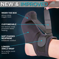 Adjustable Plantar Fasciitis Night Splint Foot Brace Support Toe Pain Relief ada