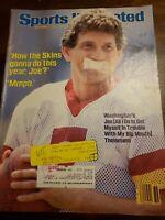Sports Illustrated - Joe Theismann - September 3, 1984 -(M19A)