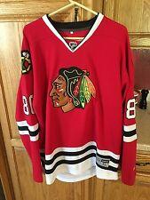 Chicago Blackhawks Teuvo Teravainen  86 Reebok Premier NHL Hockey Jersey Sz  52 215e0a3ce