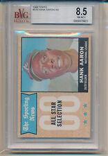 1968 Topps Hank Aaron (HOF) (All-Star Card) (#370) BVG8.5 BVG (#33204112931)