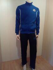 Lonsdale Herren Jogginganzug Trainingsanzug Farbe blau-schwarz Größe S NEU