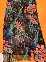 Echo Silk Scarf Floral #852