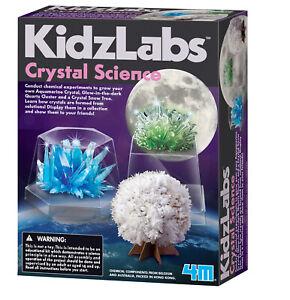 4M KidzLabs Science Kit - Crystal Science