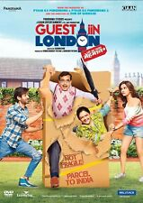 Guest Iin in London DVD - 2017 Bollywood Comedy Movie DVD Region Free, Subtitles
