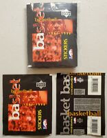 1997-98 Upper Deck Basketball Stickers Lot of 10(Ten) New Sealed Packs Jordan*