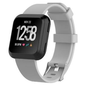Replacement Silicone Rubber Classic Band Strap Wristband For Fitbit Versa Watch