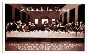Pete's Cafe, Boonville, MO Last Supper Postcard *1609H