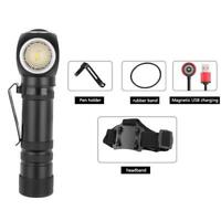 XHP50 LED Headlight 2000LM Magnetic USB Rechargeable Headlamp Flashlight Torch