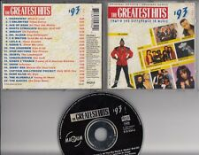 GREATEST HITS 1993 V2  MAGNUM DUTCH CD Ace Of Base 2 Unlimited Leila K Dr Alban