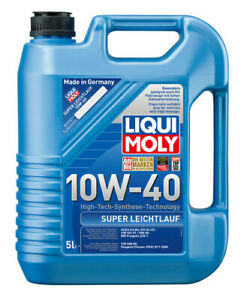 Liqui Moly Super Leichtlauf Synthetic Technology Engine Oil 10W-40 5L