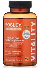 Professional Strength Scalp & Hair Care Supplement for Women, Bosley, 60 capsule