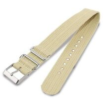 NEW-TIMEX 20MM WEEKENDER TAN NYLON REPLACEMENT BAND,STRAP  T7B896