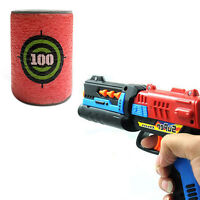 6ST EVA Schießen Zielscheibe weich Dart Nerf N-Strike Elite Blaster kids Toy NEU