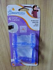 DreamBaby Corner Cushions (pack of 4 Transparent)