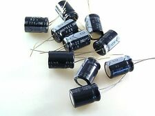 Elna 63v 220uf (M) Radial Electrolytic Capacitor 13mm x 19mm 10 pieces OL0538a