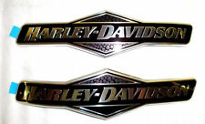 OEM Harley Willie G Skull Touring Dyna Softail Sportster Fuel Gas Tank Emblems