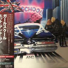 Girlschool - Hit & Run(SHM-CD. jp. mini LP),2009 UICY-93879 Japan