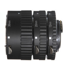 AF Auto Focus Macro Extension Tube Set 12 20 36 mm For Nikon D7200 D800 Camera