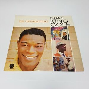 """Nat King Cole The Unforgettable 12"""" Vinyl Record 