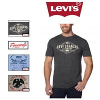 SALE! Levi's Men's Graphic Tee Shirt Soft SIZE & COLOR VARIETY FREE SHIPPING