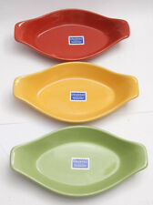 "Chantal ""Traffic Light Set"" Red Yellow Green Bowls - 93-AU27 NEW Old Stock - D05"