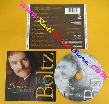 CD RAY BOLTZ No Greater Sacrifice 1996 Us WORD/EPIC EK67867   no lp mc dvd (CS6)