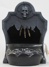 Halloween Spooky Village Motion Sensor Sound Effects Tombstone Candy Dish NWT