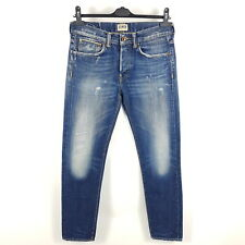 Edwin Rainbow Selvedge Jeans ED-80 Herren W30 L32 Blau Slim Tapered Distressed