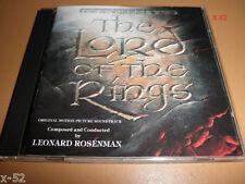 LORD OF THE RINGS animated CD soundtrack RARE INTRADA leonard rosenman OST