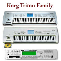Korg Triton / Triton Rack / Triton LE - Largest Sound Collection