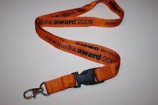 NEW Media Award 2005 chiave a nastro/Lanyard Nuovo!!!