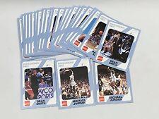 1989 University of North Carolina Collegiate Collection Michael Jordan Card Lot