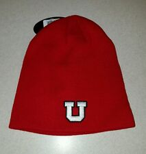 NWT Top of the World Adult UTAH UTES Knit Hat WINTER Ski Cap RED Beanie  #150216