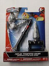 Sabans Power Rangers Ninja Steel, Morning Star and Spike-Free Shipping!
