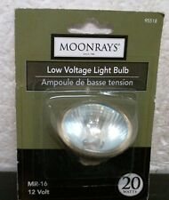 Woods MoonRays 95518 Mr-6 Halogen Light Bulb, 20w, 12v, Free Ship