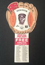 Joe Morgan 1977 Pepsi-Cola Collection Stars Baseball Gloves/Disc