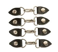 Leather Vest Extender Lobster Metal Clasps (Set of Four) - Australian Seller