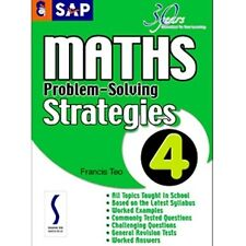 SAP Maths Problem-Solving Strategies Book 4 ( YEARS 4 & 5)