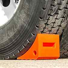 Truck Wheel Chocks Polyurethane Wheel Stopper Trailer Safety Commercial Vehicles