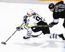 DOUG GILMOUR In ACTION vs Kings 1993 PLAYOFFS 8x10 Photo TORONTO MAPLE LEAFS HOF
