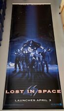 "1998 Lost in Space 119""x46 1/2"" (Approx 9 x 4 ft) Movie Theater Vinyl Poster"