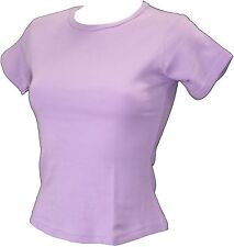 Mantis Short Sleeve Round Neck T-Shirt Lilac S-M