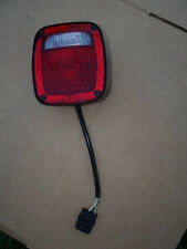 Jeep Wrangler YJ Tail Light Left side Drivers. 91-95.  1997 Brake turn signal.