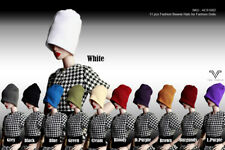 "ACS1002 11pc The Vogue Fashion Beanie Hat Set for Barbie Fashion Royalty FR2 12"""