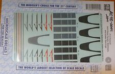 Microscale Decal O #AC48-0001 (1/48 Scale)F-14 Anti-glare Panels, Walkways, Inta