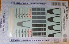 Microscale Decal O #AC48-0001 (1/48 Scale)F-14 Anti-glare Panels, Walkways, Inta